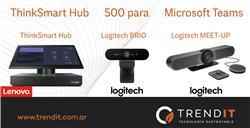 Lenovo ThinkSmart Hub 500 - Brio - MeetUp - Small Rooms