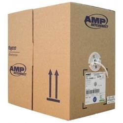Cable de Red COMMSCOPE AMP CAT 5 Blanco 305mts 6-219590-2