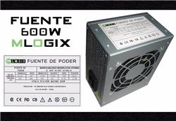FUENTE 600W MLOGIX ATX600  SLIM OEM