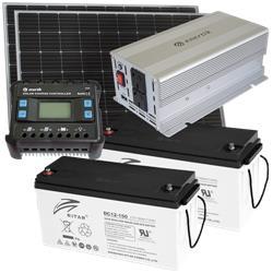 Kit Energía Solar Off Grid Basico
