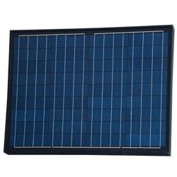 Panel Solar Policristalino 50W - 18V  Negro PS-50B