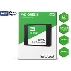 SSD 120GB WESTERN DIGITAL GREEN 2.5 SATA 545MB/S